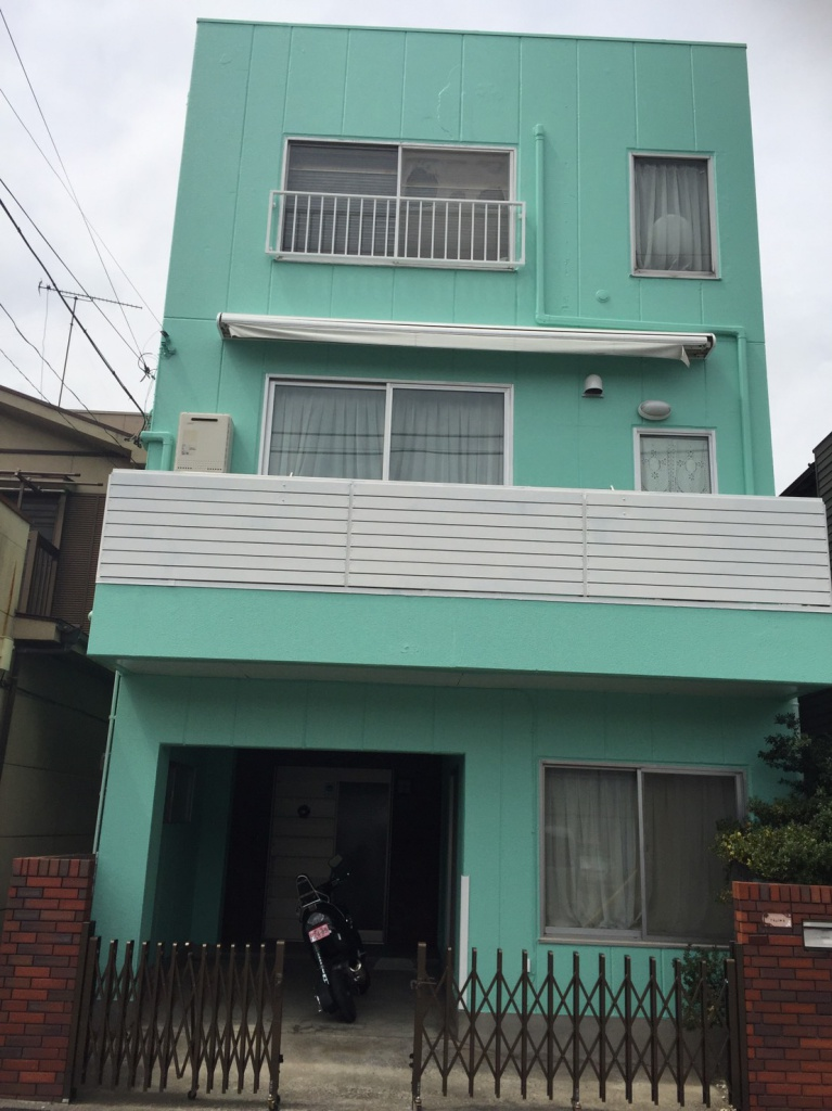 横浜市南区 Y様邸 外壁塗装